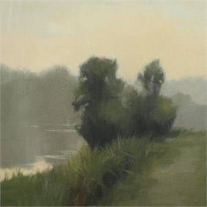 Morning Riverbank Study