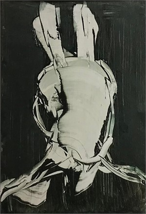 Self portrait as art history rabbit