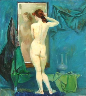 Nikolai P Esin, Nude from the Back