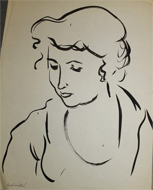 Portrait of a Woman by Anna Walinska