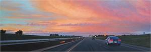 Texas Highway I-35N