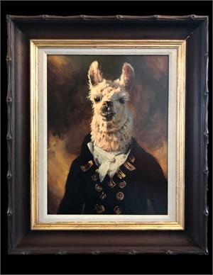 Naval Officer Llama