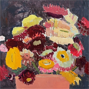 Still Life with Flowers in Pot (#2)