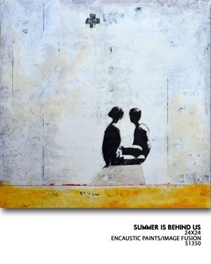 Summer Is Behind Us by Ruth Crowe