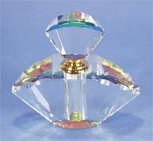 Crystal Perfume Bottle MidSize-S