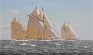 Weld Cup August 1893, Schooner Marguerite