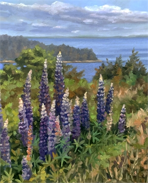 Lupine on Eagle Island