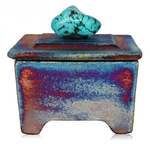 Indigo Desert Ranch Pottery - Treasure Box, 2019