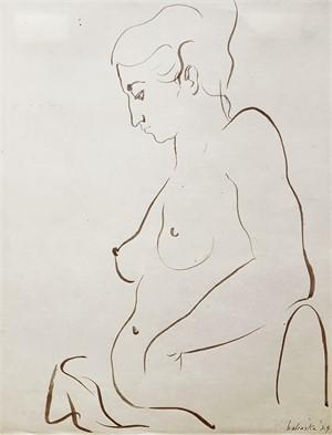 Paris Nude #14 by Anna Walinska