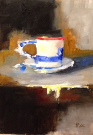 Cup with Blue, 2018