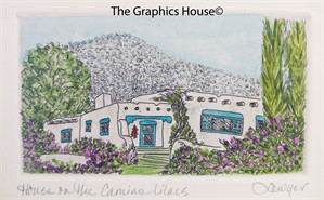 House on the Camino-Lilacs_UF, 2018