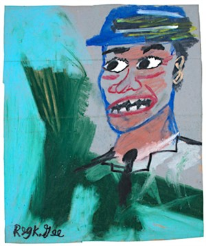 Blue Hat, Green Shirt, 1999
