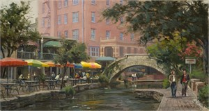 Lunch Along the Riverwalk