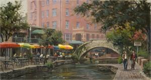 Lunch Along the Riverwalk