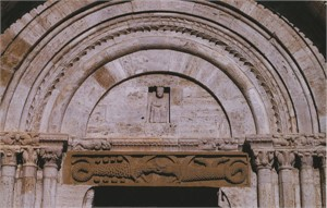 Cathedral Arch, Pienza, Italy, 2005