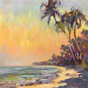 Beach Palms by Linda Richichi