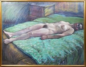 Green Comforter, 1983