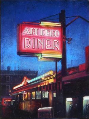 Art Deco Diner, 2019