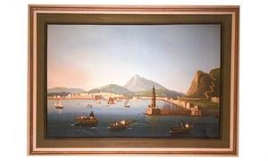 PALERMO DA MARE / VEDUTA DE VESUVIA, Italian, 19th century