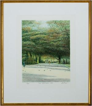 Parc Montsouris by Harold Altman