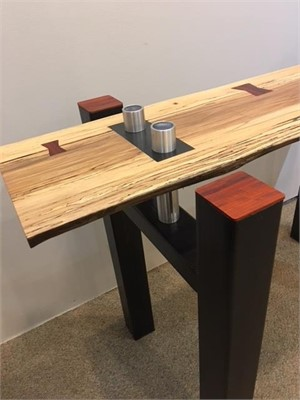 Spalted Ash Coffee Table, 2017