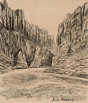 Untitled (Santa Elena Canyon), c. 1950s