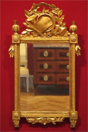 Wall Mirror, Period Louis XVI, circa 1785