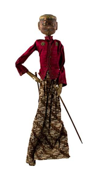 Golek Puppet (Male), c1900