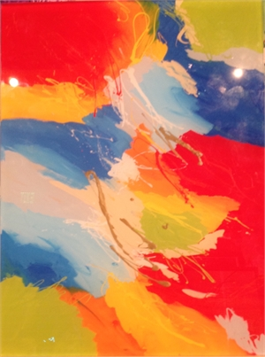 Abstract Print, 2016