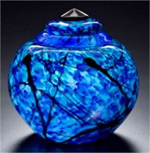 Lapis Clouds Ginger Jar-L