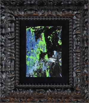 DISTANT BLUE FALLS ( not framed)