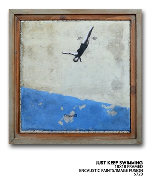 Just Keep Swimming by Ruth Crowe