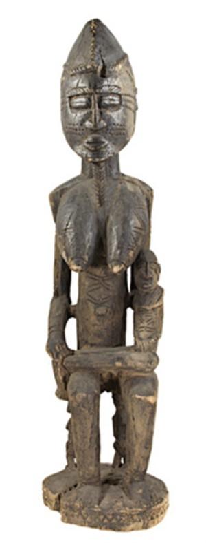 Maternity-Dogon Tribe Village-Bandiagara Mali, c.1890