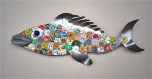 Brewster   Beer Cap Fish