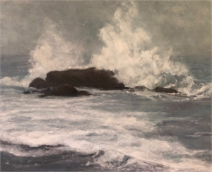 Bass Rock, Whale Rock, 2019