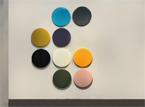 BUTTON UP  (24inch each circle), 2016