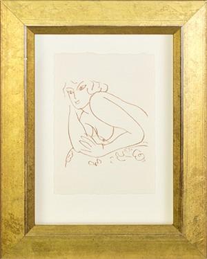 Nude Contemplating (from Florilege des Amours de Ronsard Portfolio), 2007