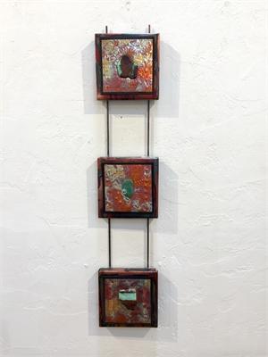 Copper Triptych, 2019