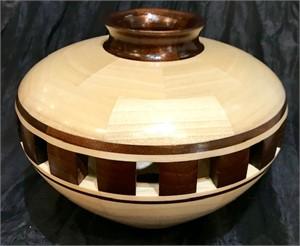 107-piece Poplar Vessel