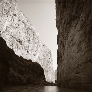 Santa Elena Canyon, Mouth of the Canyon (1/25), 2007