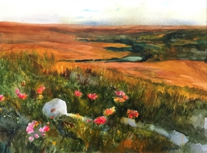 Homage to the Flint Hills by Lila Bartel