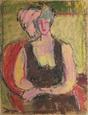 Woman In Pink Hat, 1933