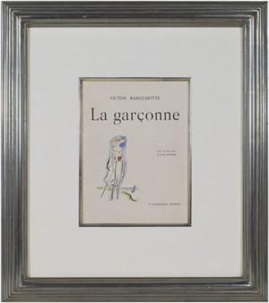 Woman at the Seaside (Frontispiece) -La Garconne Series- Une femme au bord de la mer, 1925