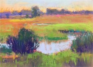 Celery Fields 2 study by Linda Richichi