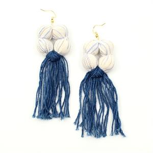 Aretes Perseus (Blanco/Azul), 2020