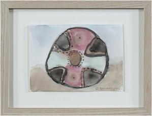 Shield, Kiowa, Central Plains, c.1850 (small version), 1996