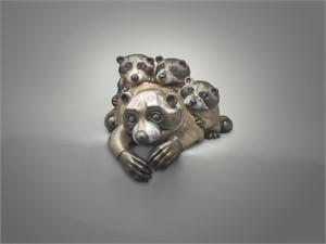 Raccoon Family (3/10)