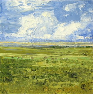 Old Country Flint  Hills No. 3 by James Pringle Cook