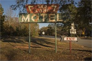 Late Harvest: Redland Motel, Washington GA by Forest McMullin