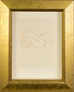 Two Nudes Entwine (from Florilege des Amours de Ronsard Portfolio), 2007